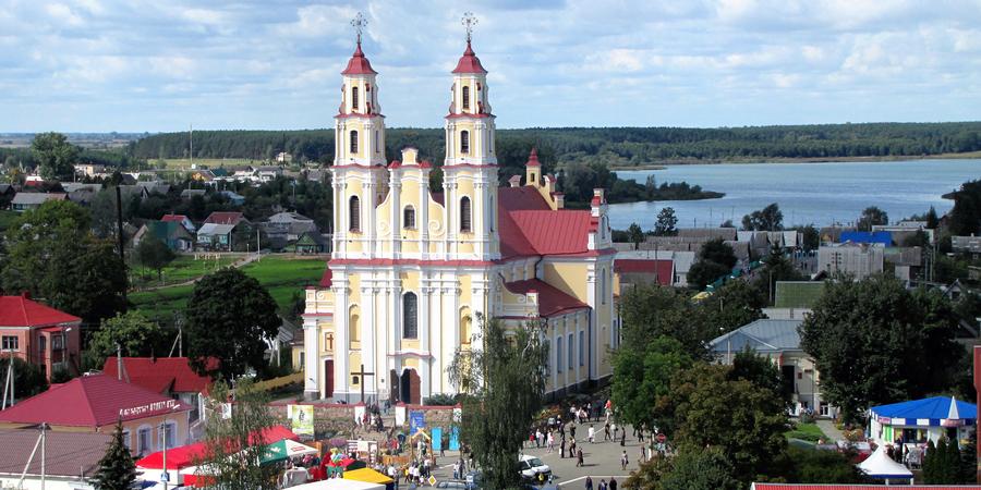 Костел Святой Троицы, Глубокое, Беларусь