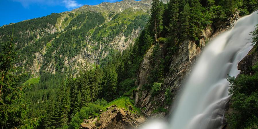Водопад Кримль, Австрия