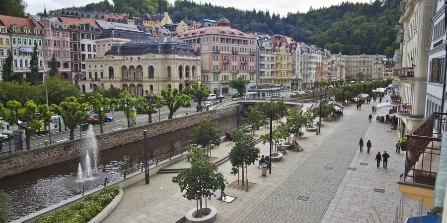 Отдых и лечение в Карловых Варах – отель Mozart 3*