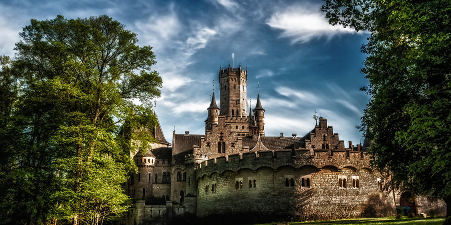 Замок Мариенбург, Германия